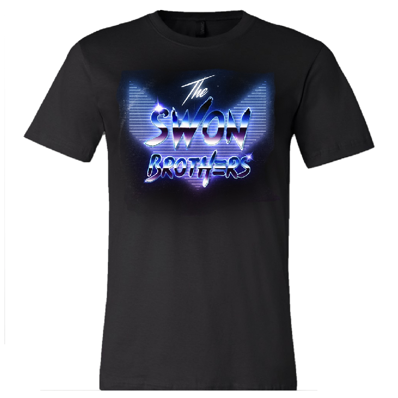 Swon Brother Black LogoTee